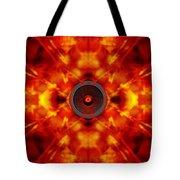Audio Kaleidoscope Tote Bag