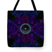 Audio Purple Glow Tote Bag