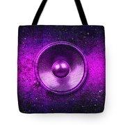 Audio Purple Tote Bag