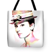 Audrey Hepburn 6 Tote Bag