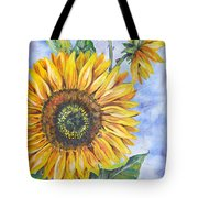 Audrey's Sunflower Tote Bag