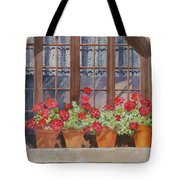 August At The Auberge  Tote Bag