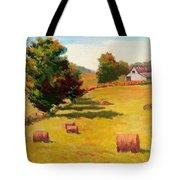 August Hay Field Tote Bag