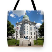 Augusta Capitol Building Tote Bag