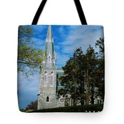 Augustinian Cemetery And Church Tote Bag