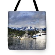 Auke Bay Harbor Tote Bag