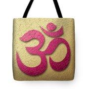 Aum Or Om Symbol Tote Bag