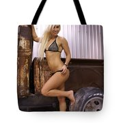 Auriel Rusty Rat Rod 1 Tote Bag
