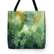 Aurora Borealis Abstract Tote Bag