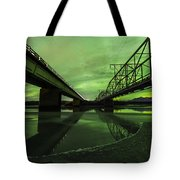 Aurora Bridge Tote Bag