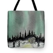 Aurora Magic - Dance Of The Lights Tote Bag
