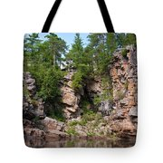 Ausable Chasm 1608 Tote Bag