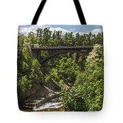 Ausable Chasm Bridge Tote Bag