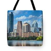 Austin Daytime Skyline Tote Bag