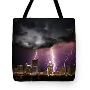Austin Light Show Tote Bag