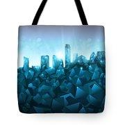 Austin Skyline Geometry 3 Tote Bag