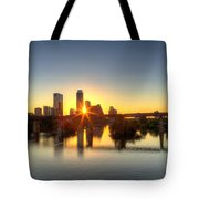 Austin Sunrise Tote Bag