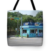 Austin Texas Congress Street Shop Tote Bag
