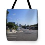 Austin Texas Congress Street View Tote Bag