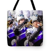Austin Texas - Marching Band Celebrate Tote Bag