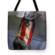 Austin Texas - Red White Blue Sequin Tote Bag