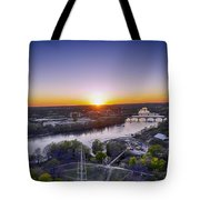 Austin Texas Sunset Hour Tote Bag