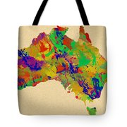 Australia Watercolor   Tote Bag