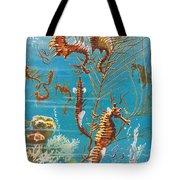 Australian Seahorses Tote Bag