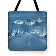 Austria Mountain Ischgl Tote Bag