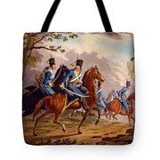 Austrian Hussars In Pursuit Tote Bag