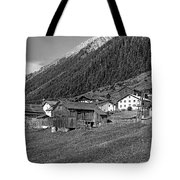 Austrian Village Monochrome Tote Bag