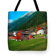 Austrian Village Tote Bag