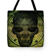 Authentic Skull Of The Vampire Callicantzaros Tote Bag