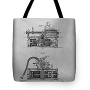 Authentic Thomas Edison Phonograph Patent Tote Bag