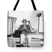 Author Booth Tarkington Tote Bag