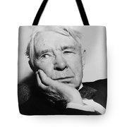 Author Carl Sandburg Tote Bag