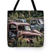 Auto Junk Yard Tote Bag