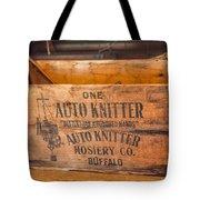 Auto Knitter Box Tote Bag