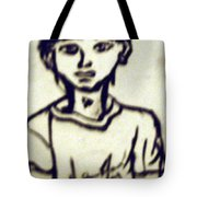 Autographed Drawing Tote Bag