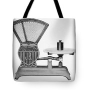 Automatic Computing Scale Tote Bag