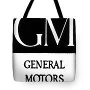 Automobiles Gm Logo Tote Bag