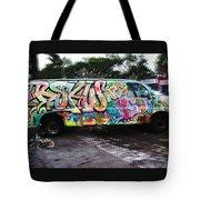 Automotion Van  Tote Bag