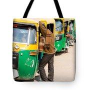 Autorickshaw Row Tote Bag