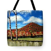 Autum Hill Tote Bag