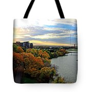 Autumn Along The Trinity Tote Bag