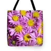 Autumn Aster Tote Bag