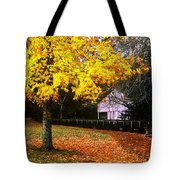 Autumn At Old Mill Tote Bag
