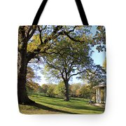 Autumn At Runnymede Uk Tote Bag
