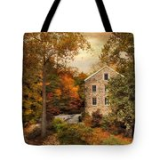 Autumn At Stone Mill Tote Bag