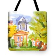Autumn At The Courthouse Tote Bag
